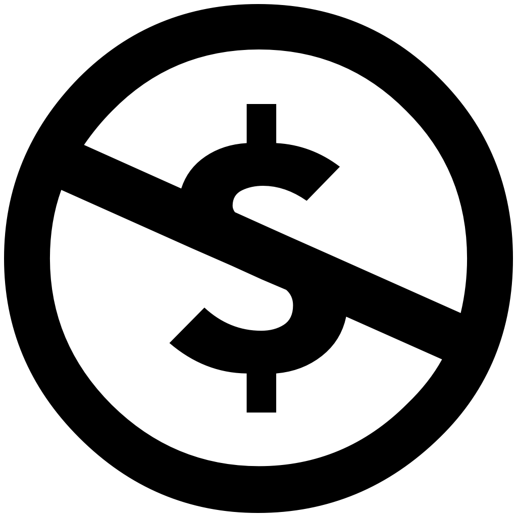 Icon: Creative Commons NC (NonCommercial)