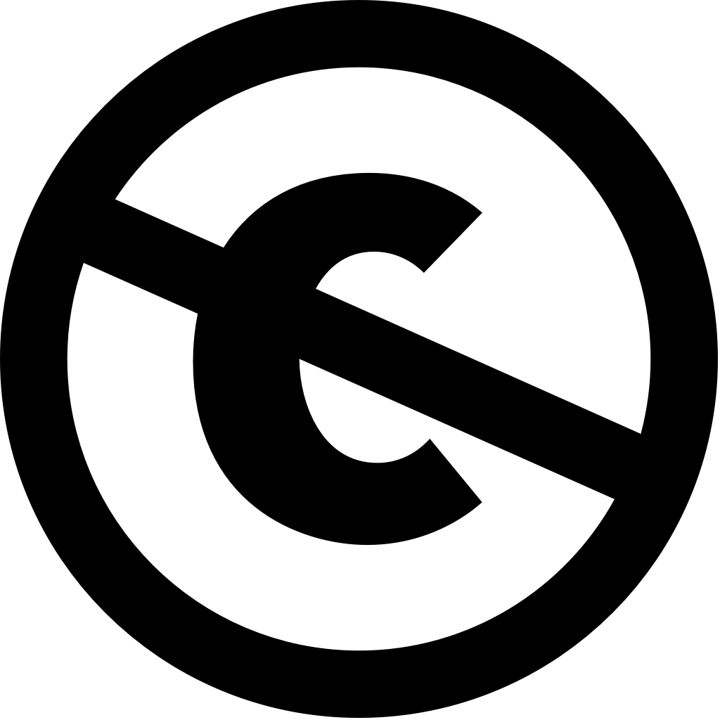 Icon: Creative Commons PD (Public Domain)