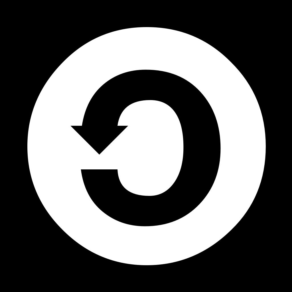 Icon: Creative Commons SA (ShareAlike, Weitergabe unter gleichen Bedingungen)